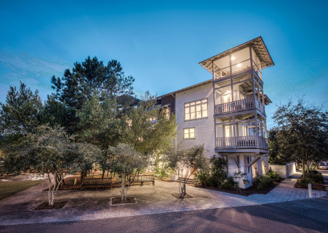 Thyme & Place - Watch the Sunset Over Rosemary Beach from the 4th Floor Deck