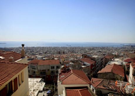 Best View In Thessaloniki Town!