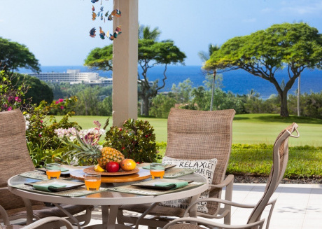 Country Club Villas#115 Ground Floor, Incredible Oceanview, Spacious Lanai,