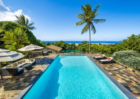 Hale Lani-Private Majestic Gated Property w/Resort Size Pool! Sleep 14! AC!!