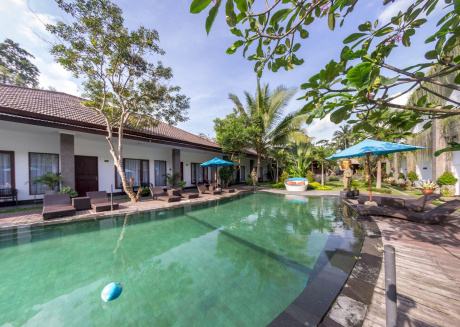 Cozy apartment in Ubud with Parking, Internet, Air conditioning, Pool