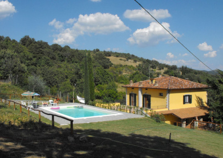 Cozy villa in Arezzo with Parking, Internet, Washing machine, Pool