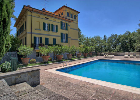Spacious villa in Arezzo with Parking, Internet, Washing machine, Pool