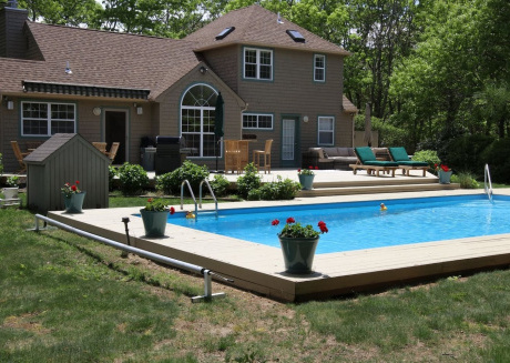 Cozy house in East Hampton with Parking, Washing machine, Air conditioning, Garden