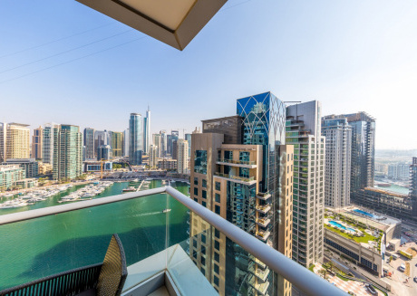 Cozy apartment in Dubai with Parking, Internet, Air conditioning