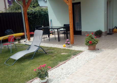 Cozy apartment in the center of Balatonlelle with Internet, Garden, Terrace