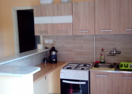 Spacious apartment in the center of Balatonlelle with Internet, Garden, Terrace
