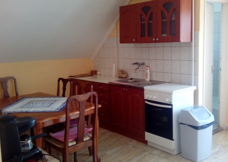 Spacious apartment in the center of Balatonlelle with Internet, Balcony, Garden