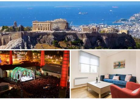 Athens 5 Senses Apartment-acropolis Foothills