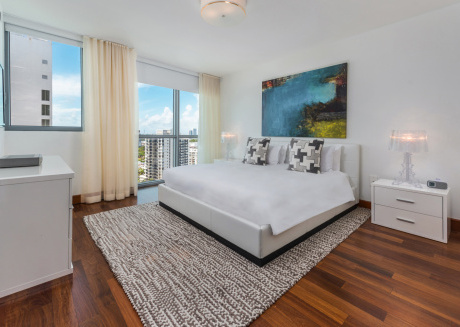 Gorgeous ocean and city views in this 2bd/2ba Private Residence at The Setai
