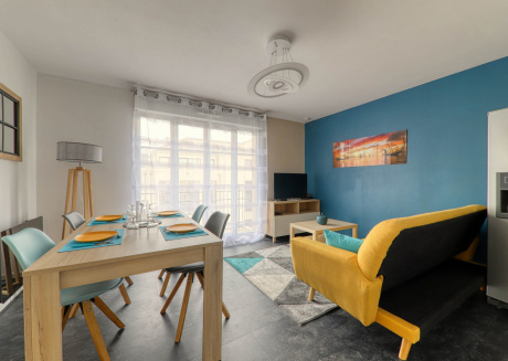 Cozy apartment very close to the centre of Bussy-Saint-Georges with Lift, Internet