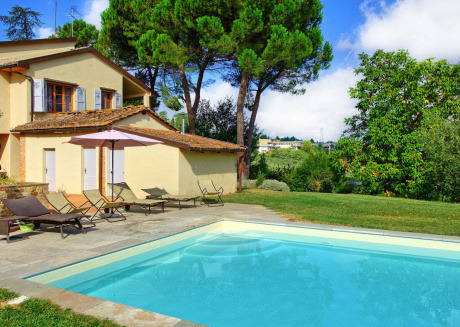 Spacious villa in Montaione with Parking, Internet, Washing machine, Air conditioning