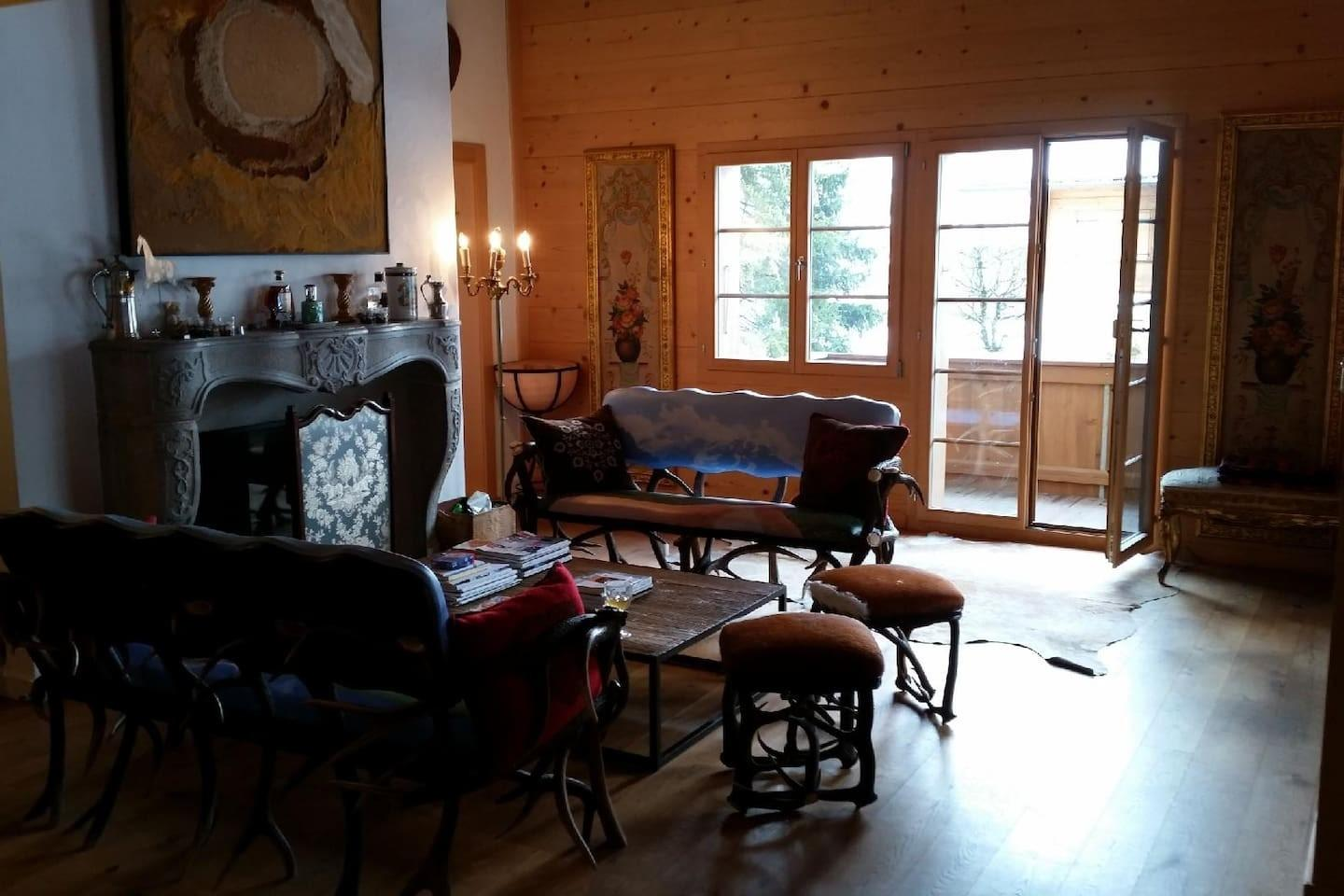 Cozy apartment close to the center of Saanen wi... Slide-1