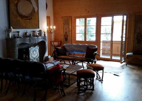 Cozy apartment close to the center of Saanen with Lift, Parking, Internet, Washing machine