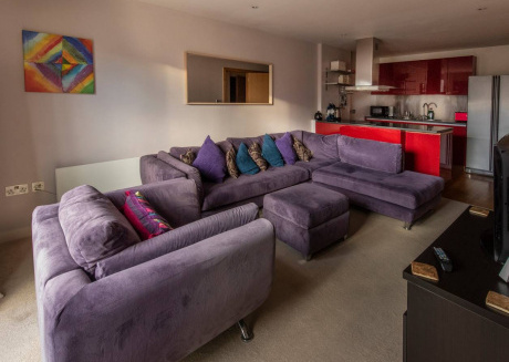 Cozy apartment in the center of Manchester with Lift, Internet, Washing machine