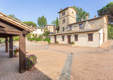 Cozy country house in Montone with Parking, Internet, Air conditioning, Pool