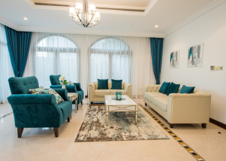 Cozy villa in Dubai with Parking, Internet, Washing machine, Air conditioning