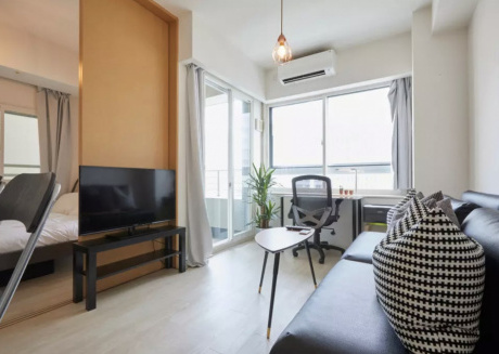 Cozy apartment close to the center of Minato with Lift, Internet, Air conditioning, Terrace