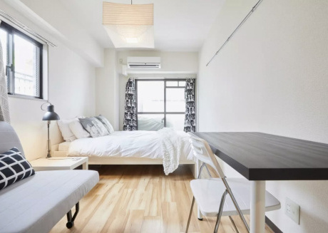 Cozy apartment in the center of Minato with Lift, Internet, Air conditioning, Terrace