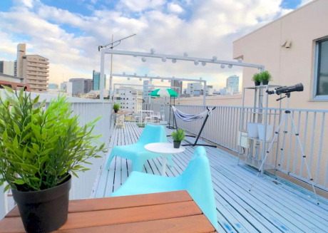 Spacious apartment very close to the centre of Shibuya with Lift, Internet, Air conditioning, Terrace