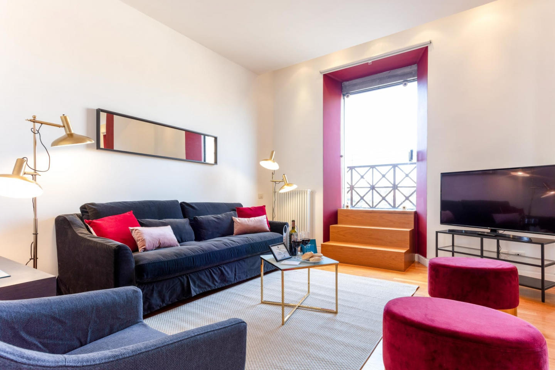Spacious apartment close to the center of Rome ... Slide-3