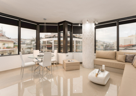 Cozy apartment in the center of Thessaloniki with Lift, Internet, Washing machine, Air conditioning