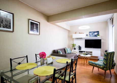 Spacious apartment very close to the centre of Pueblo Libre with Lift, Internet, Washing machine, Balcony