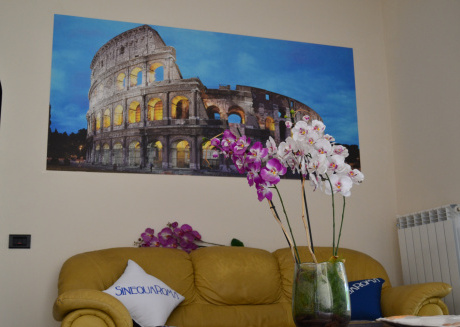 Spacious house in Rome with Internet, Terrace