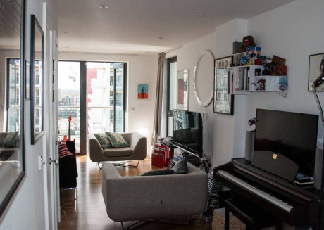 Cozy apartment in London with Lift, Internet, Washing machine