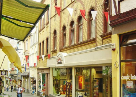 Living in the historic Cochem Old Town