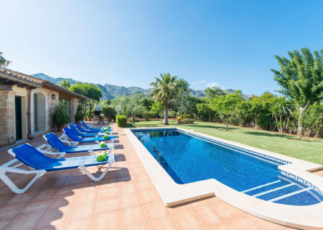 Spacious villa in Pollença with Parking, Internet, Washing machine, Air conditioning