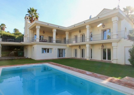Cozy villa in San Roque with Parking, Internet, Washing machine, Air conditioning
