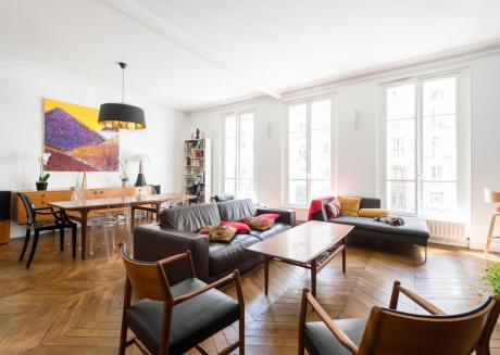 Spacious apartment in Paris with Lift, Internet, Washing machine