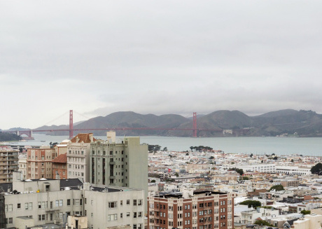 Spacious apartment close to the center of San Francisco with Lift, Internet, Washing machine, Air conditioning