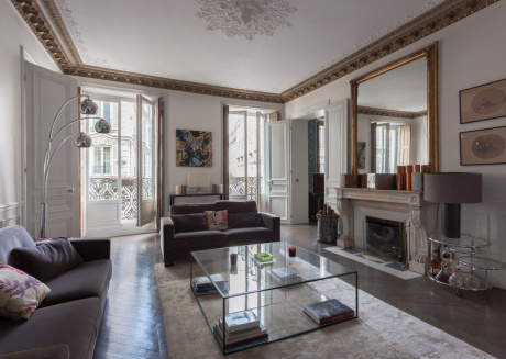 Spacious apartment in Paris with Internet, Washing machine