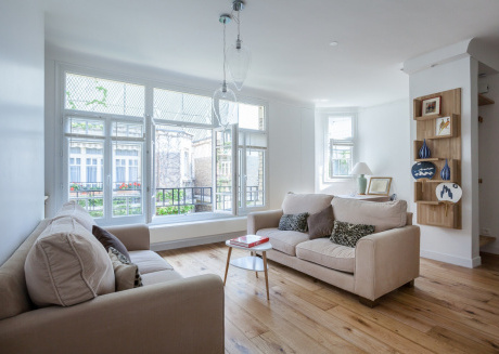Spacious apartment in Paris with Internet