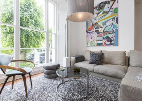 Spacious apartment in London with Internet, Washing machine, Garden