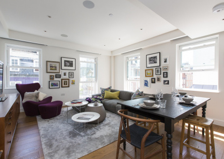 Spacious apartment close to the center of London with Lift, Internet, Air conditioning
