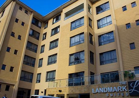 Relax and enjoy the great amenities offered at the Landmark Suites