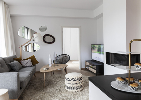 Stylish Smart Home in Uccle Free parking