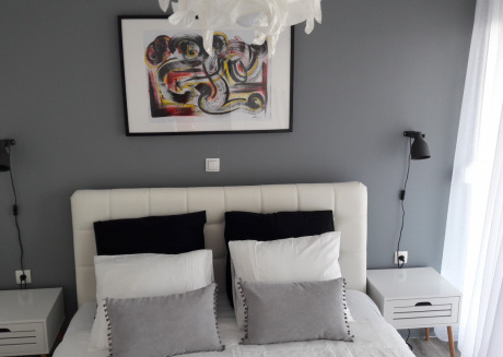 Spacious apartment in the center of Privlaka with Parking, Internet, Air conditioning, Terrace