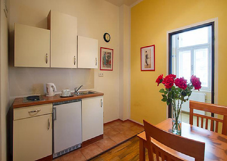 Cozy Apartment for five person in Prague City center
