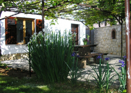 Cozy house in the center of Funtana with Parking, Internet, Terrace