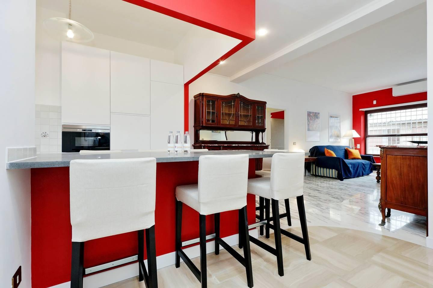 Cozy apartment in Rome with Lift, Parking, Inte... Slide-2