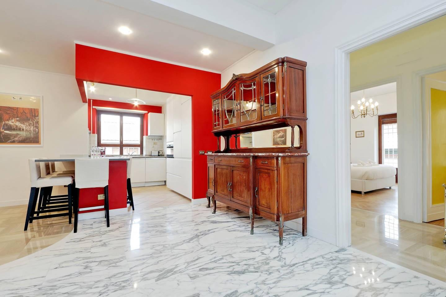 Cozy apartment in Rome with Lift, Parking, Inte... Slide-3