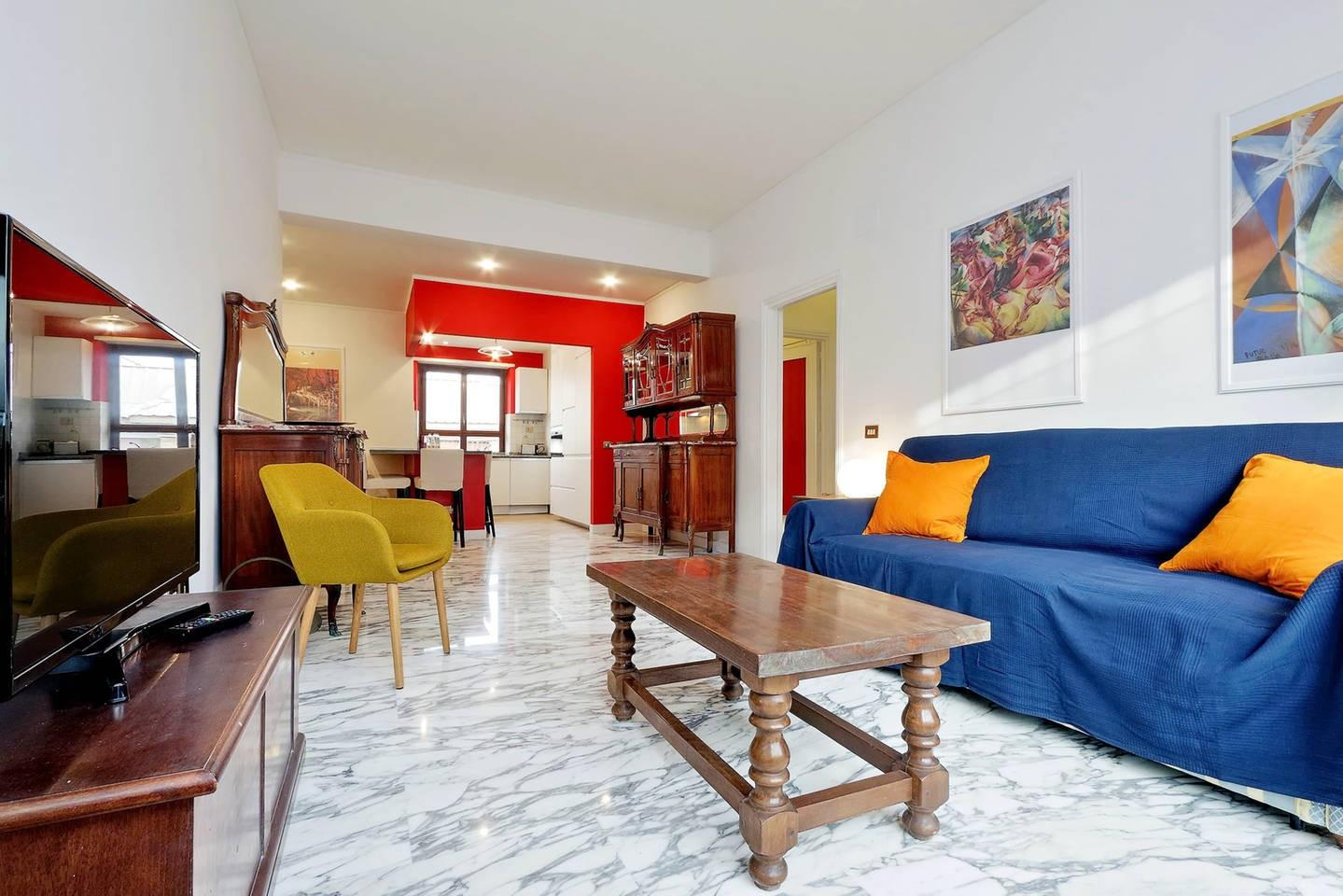 Cozy apartment in Rome with Lift, Parking, Inte... Slide-1