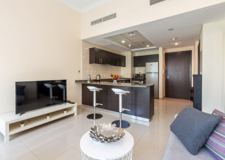 Cozy apartment in Dubai with Lift, Parking, Internet, Washing machine