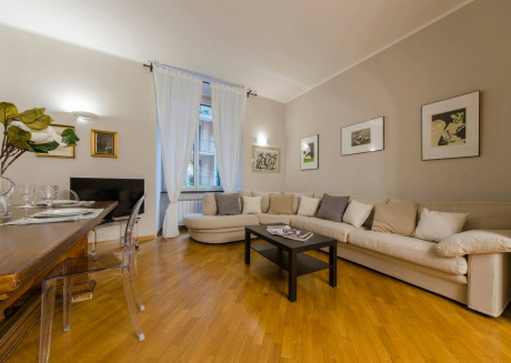 Spacious apartment in the center of Genoa with Internet, Washing machine