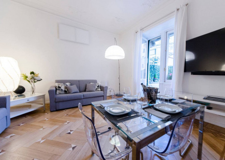 Cozy apartment in the center of Genoa with Internet, Washing machine, Air conditioning