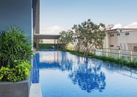 Cozy apartment in Hua Hin with Lift, Internet, Air conditioning, Balcony